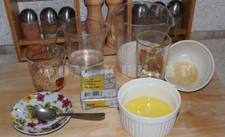 ингредиенты для суфле с желатином