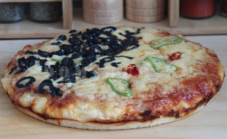 пышная и сочная пицца
