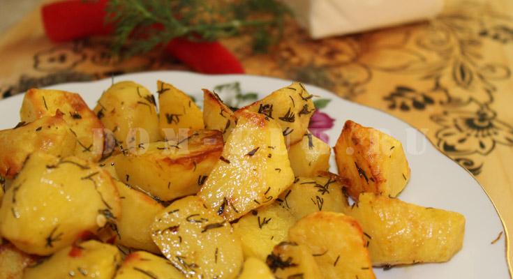 как запечь картошку в духовке с корочкой и не сжечь ее
