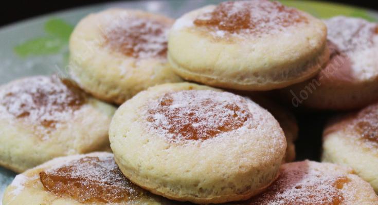 Рецепт домашнего печенья. Видео