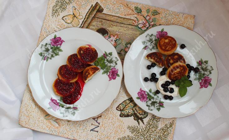 Сырники: рецепт с фото