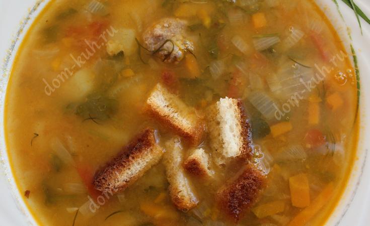 Советский рецепт горохового супа