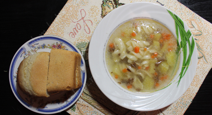 Как приготовить суп из лесных грибов рыжиков?