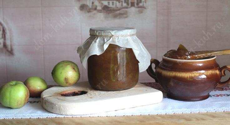 Рецепт яблочного повидла с корицей